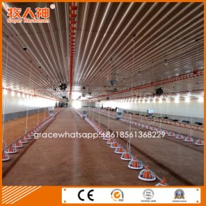 Factory Environment Control Shed Broiler Poultry Farming Equipment with Free Design pictures & photos