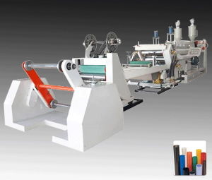 Two Layer Double Screw Plastic PP Sheet Extruder Line pictures & photos
