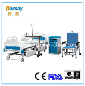 BS-858b ICU Hospital Electric Bed Five Function Medical Bed for Sale pictures & photos