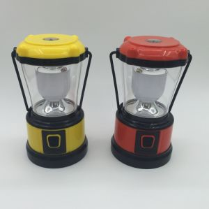 Super Light Plastic LED Camping Lantern with Handle (MC5003) pictures & photos