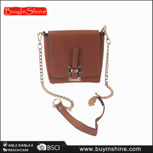 Solid Brown Women Shoulder Hand Bag