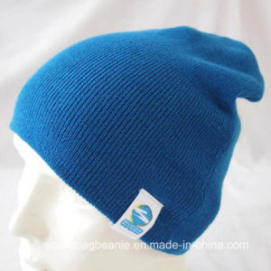 100%Acrylic Cheap Promotion Knitted Hat pictures & photos