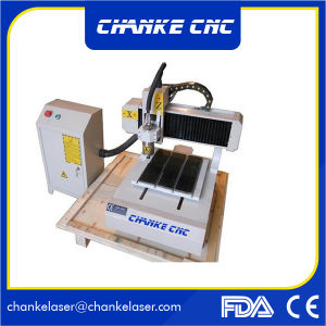 Desktop 3030 Artware CNC Router 4 Axis/ Ncstuio Control pictures & photos
