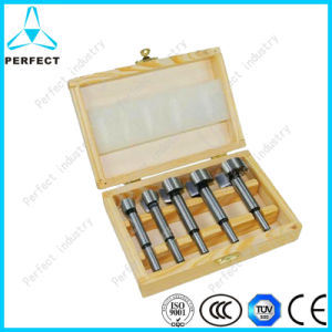 High Carbon Steel Forstner Drill Bit Set with Wooden Case pictures & photos