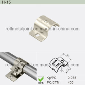 Nickel Plated Metal Joint for ABS/PE Pipe (H-15) pictures & photos
