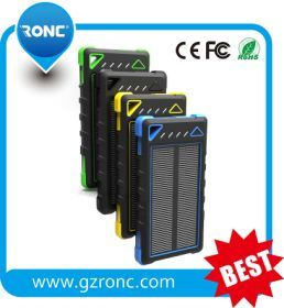 Wholesale Fast Selling 10000mAh Solar Power Bank pictures & photos