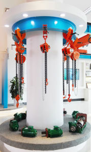 1 Ton Electric Chain Hoist with Electric Cable Trolley pictures & photos