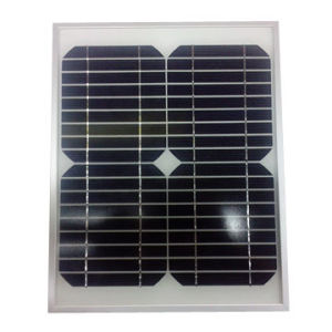 10W/18V Mono-Crystalline Silicone Solar Panel pictures & photos