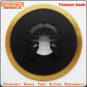 HSS Convex Oscillating Tool Quick Fit Titanium Circular Saw Blade pictures & photos