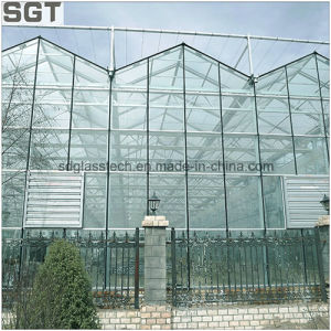 Low Iron Toughened Solar Glass Greenhouse Glass pictures & photos