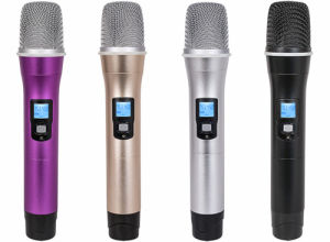 Wireless Handheld Microphone with UHF GS-368h pictures & photos