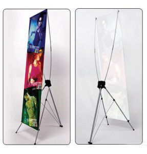 Retractable X-Banner for Advertisement pictures & photos