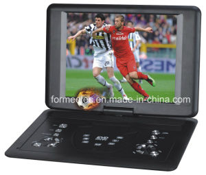 "14.1"" Player Portable DVD with FM Radio Game TV pictures & photos"