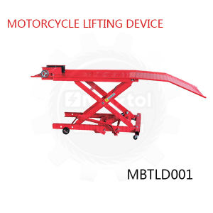 Professional 800lbs Motorcycle Lifting Device Pneumatic Optional pictures & photos