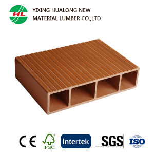 China Waterproof Wood Plastic Composite Wall Panel for Outdoor (M1) pictures & photos