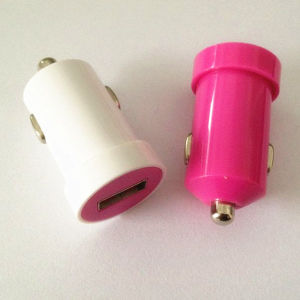Colorful 5V 1A Car Charger Portable USB Car Charger for Mobile Phone pictures & photos