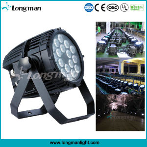Outdoor IP65 Rgbaw 18*10W DMX LED Stage Lighting for Concert pictures & photos