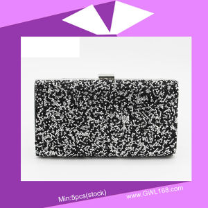 Party Lady Clutch Handle Evening Bag (CZ-003) pictures & photos