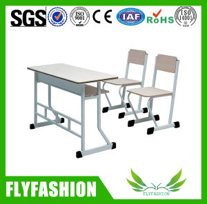2 Seater Student Desk and Chair (SF-18D) pictures & photos