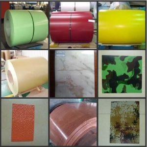 Mill Supply Cheapest Color-Coated Galvanized Steel in Coil/Sheet PPGI pictures & photos