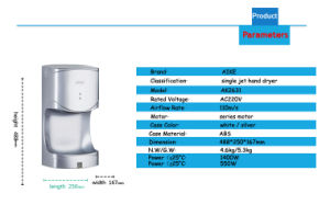 Hotel High Speed Automatic Hand Dryer for China Supplier (AK2631) pictures & photos