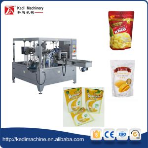 Dried Durian Packaging Machine with Zipper Pouch pictures & photos