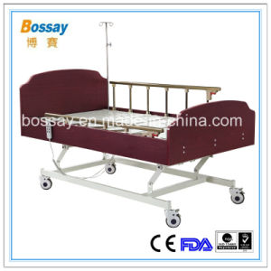 Taiwan Timotion Electric Care Bed Three-Functions Homecare Bed pictures & photos