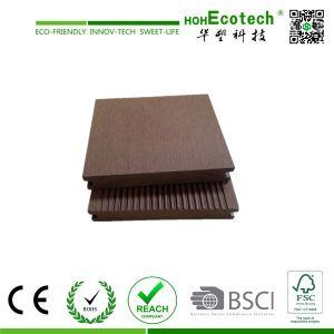 Wood-Plastic Composite Flooring Technics and Engineered Flooring Type WPC Deck Flooring pictures & photos