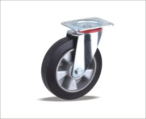 Latest Style High Quality Rubber Adjustable Solid Rubber Wheels pictures & photos