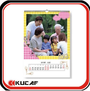 Logo Printing Wall Calendar for Promotion pictures & photos