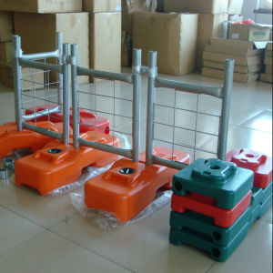 Plastic Concrete Temporary Fencing Feet pictures & photos