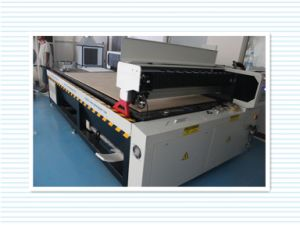 High Speed CNC Laser Cutting and Engraving Machine for Embroidery pictures & photos