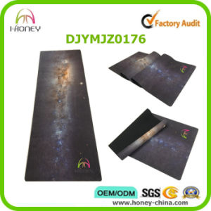 Galaxy Printed Yoga Mat Fitness Eco-Friendly Mat pictures & photos
