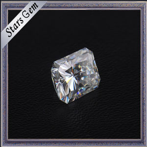 Clear White Rectangle Princess Diamond Cut Moissanite for Jewelry pictures & photos