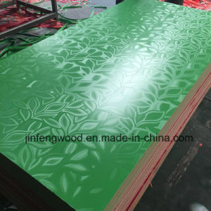 Leaf Texture Finish Supermarket 14mm Thickness Melamine MDF Board pictures & photos