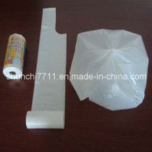 Virgin HDPE Plastic Garbage Bag on Roll in Different Colors pictures & photos