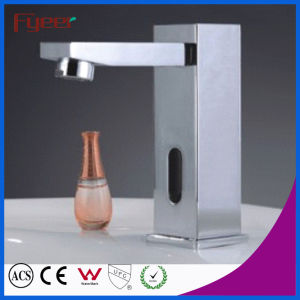 Fyeer Square Body Cold Only Touchless Sensor Tap (QH0116) pictures & photos