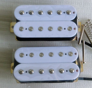 Guitar Parts OEM White AlNiCo 2 Humbucker Guitar Pickup pictures & photos