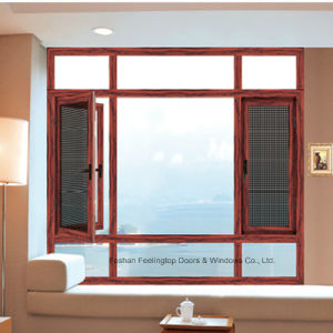 Feelingtop Aluminium Casement Glass Window Profile pictures & photos