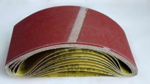 Wood Polishing Aluminum Oxide Abrasive Cloth Gxk51-P pictures & photos