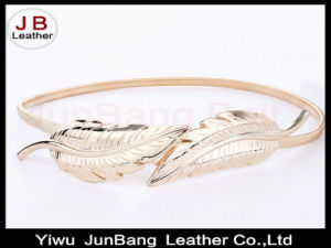 Fashion Lady Decorative Metal Thin Belt pictures & photos