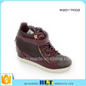 Fashion All Star Shoe Women Printed Casual Shoes pictures & photos