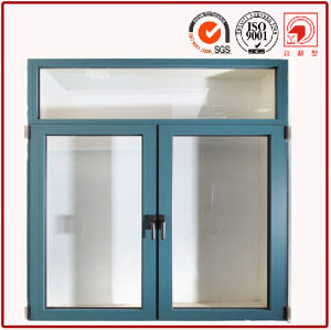 Two Panel Single Slider Aluminium Windows pictures & photos