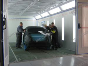 European Standard High-End Energy Saving Auto Spray Paint Booth for Sale pictures & photos