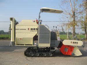 Mini Combine Harvester for Rice and Wheat