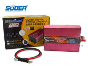 Suoer Solar Power Inverter 1000W Digital Display Power Inverter 12V to 220V (HAA-1000A) pictures & photos