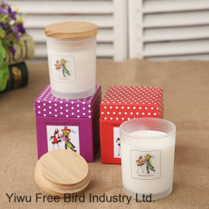 Scented Jar Candle with Lid pictures & photos