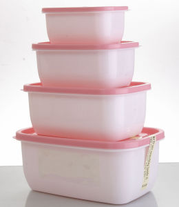 2015 High Quality Microwave Safe Plastic Crisper Box pictures & photos