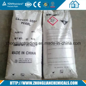 Industrial Grade Caustic Soda Flake 98.5% in 25kg Bag pictures & photos