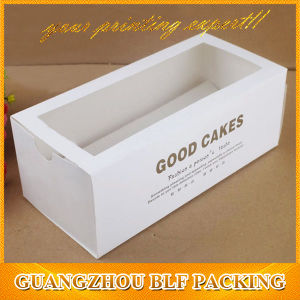 PVC Window Paper Biscuit Cookie Box Packaging pictures & photos
